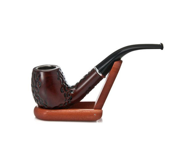 Creative Imitation of Photinia Resin Tobacco Pipe Gift Good Removable Cleaning Pipe Tobacco Wholesale