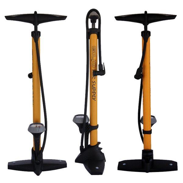 GIYO GF-55P Велосипедный насос напольный Mtb Велосипедный насос высокого давления 160PSI Велоспорт с пневматическим насосом для накачки шин (A / V) (F / V) (E / V) # 335674
