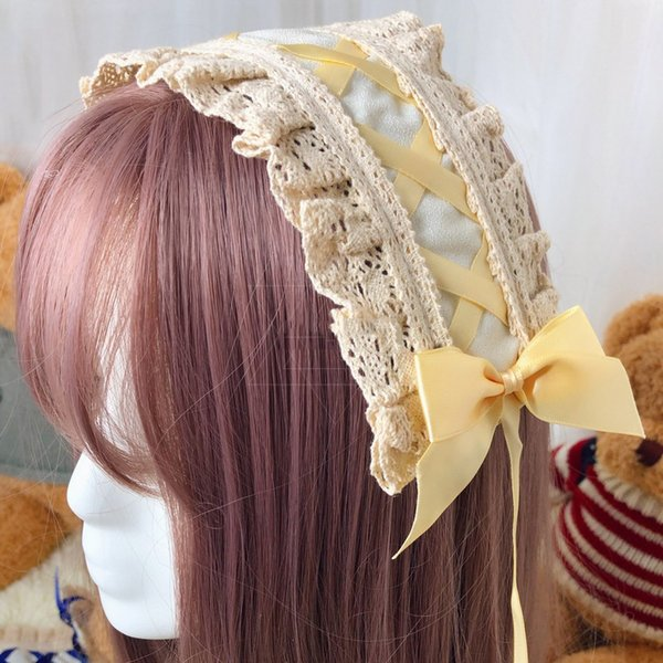 Yellow hairband