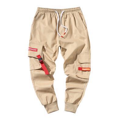 Plus velours épais pantalons hommes plus engrais XL graisse lâche faisceau outillage marque de marée sport pantalon décontracté hiver