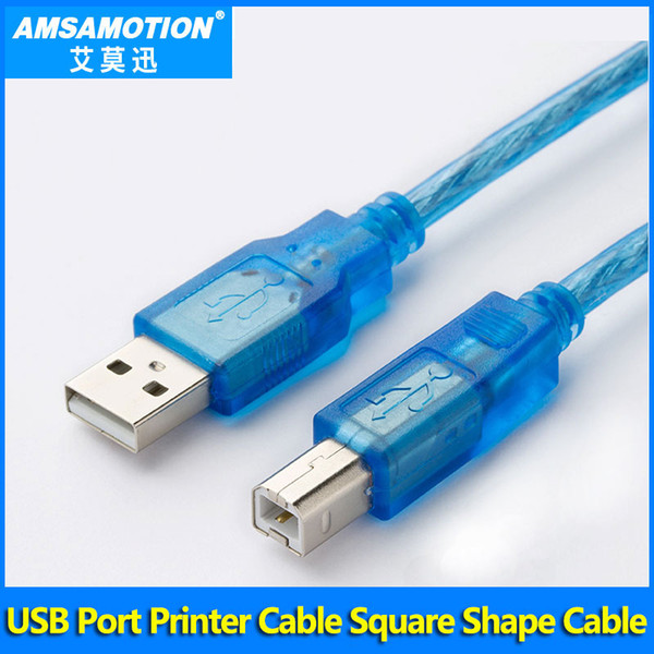 2019 USB CP1H PLC Printer Cable Square Port Exensible Cable Suitable Omron  CP1H CP1E CP1L CP1G Series PLC High Quality Cable Download Line From
