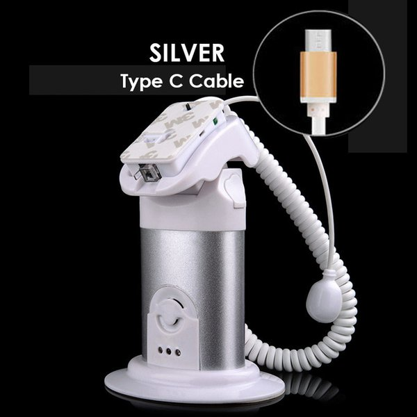 Silver Type C cable