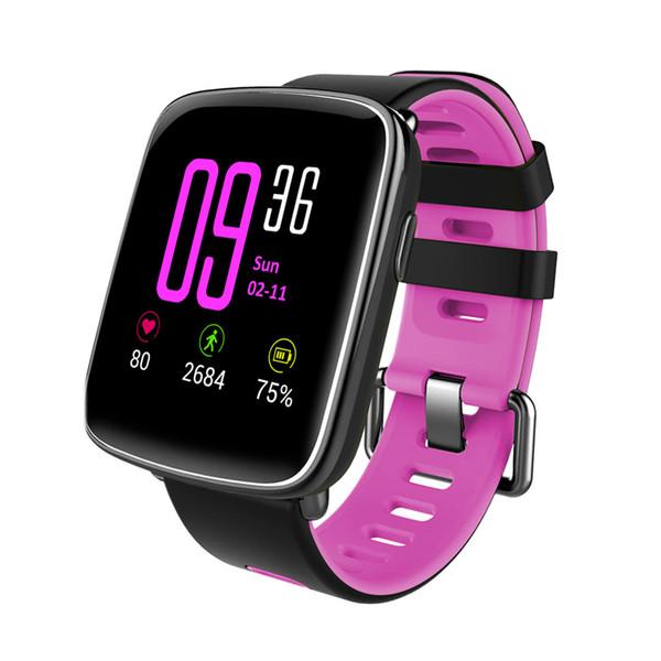 Heart Rate Smart BT Sport Watch Wristband Bracelet Call Notification Pedometer Alarm Sleep Monitor for iPhone 7 Plus Samsung S8