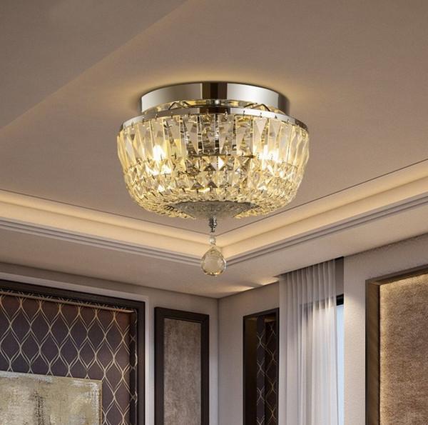Cristal de placage nordique Plafonniers lustre Moderne Plafond Suspendu Lampes Éclairage de décor industriel Pour Luminaires De Salon LLFA