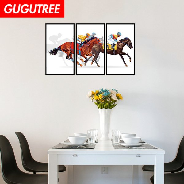 Decorate Home horse cartoon art wall sticker decoration Decals mural painting Removable Decor Wallpaper G-2320