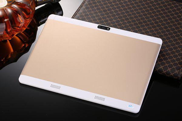 Spedizione gratuita 10 pollici Tablet pc Octa Core 4 GB di RAM 64 GB ROM dual sim WiFi FM IPS telefono GPS per bambini Tablet 3G WCDMA + regali