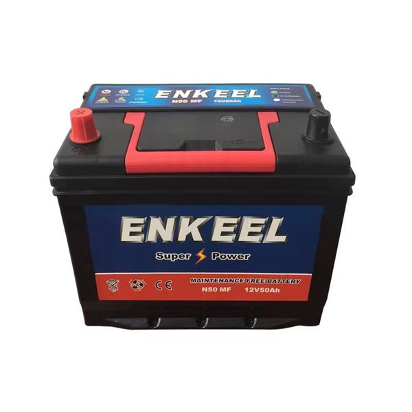 Hot Sale Good quality 12v 55AH Vehicle Batteries For Car Vehicle FOB Price Suitable for Many Car Brands and Series