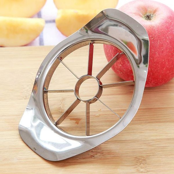 Stainless steel apple slicer Vegetable Fruit Apple Pear Cutter Slicer Processing Kitchen slicing knives Utensil Tool