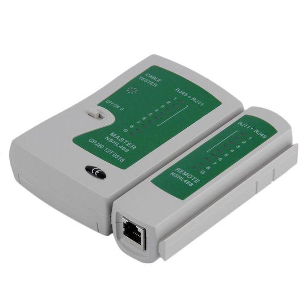 CHL-468 NSHL RJ45 RJ11 RJ12 CAT5 UTP Rede LAN USB Cable Tester Ferramentas de Teste Remoto Detector Condição de Sinal Atacado