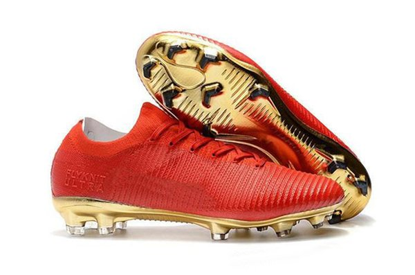 Superior quality CR7 Nonslip Soccer Shoe Cristiano Ronaldo Men Mercurial Superfly FG TF High001 Top World Cup training Football Boots n11