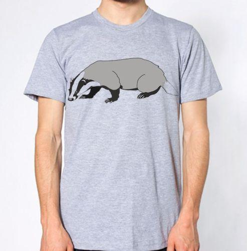 Badger T-Shirt Mustelidae Otters Weasels Animal Lover Top