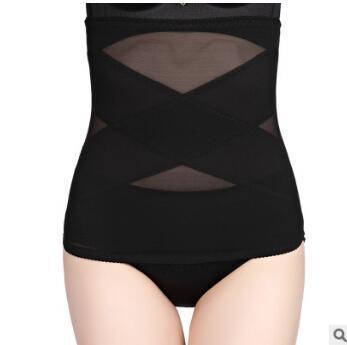 Postpartum Repair Ultra-thin Black Skin Waist & Tummy Shaper Body Shaping Clothes Body Sculpting & Slimming Free-shipping HA269