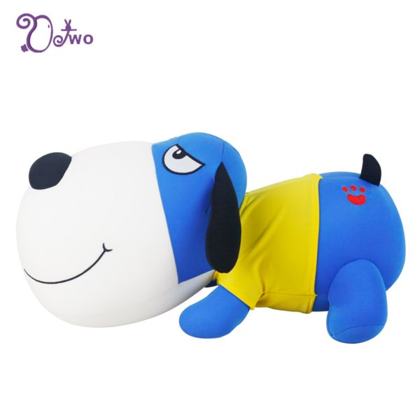 Kawaii Plush Want Want Dog Dog Animal Doll Foam Nano Toy soft toy Environmental Creative stuffed animals stitch toys for girls