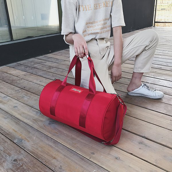 Charismatic2019 Trip A Woman Portable Luggage Male Korean Original Old Motion Travel Bag Light Waterproof Training Bodybuilding Package