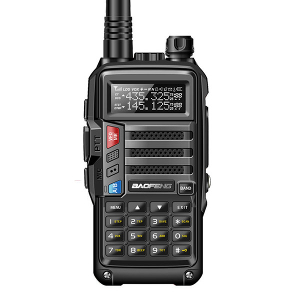 best selling 2019 BaoFeng UV-S9 High Power Portable Walkie Talkie 10km Long Range CB Radio Transceiver for Hunt Forest City Upgrade 5R