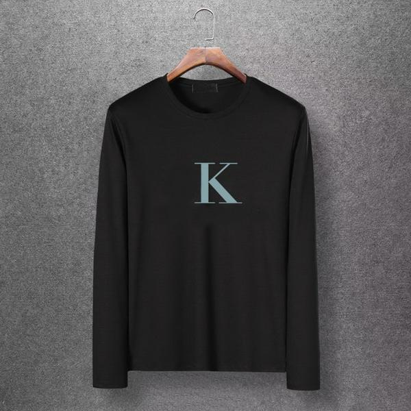 2019 Plus Size Designer Brand Mens Fashionable Long Sleeve Shirt Letter Print M-6XL High Quality Shirts Casual Outwearing T-Shirts EAR98302