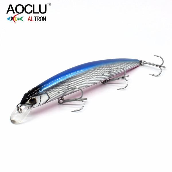 Jerkbait Wobblers 7 Colors 13cm 20.0g Hard Bait Minnow Crank Fishing Lures Bass Fresh Salt Water 4# Vmc Hooks