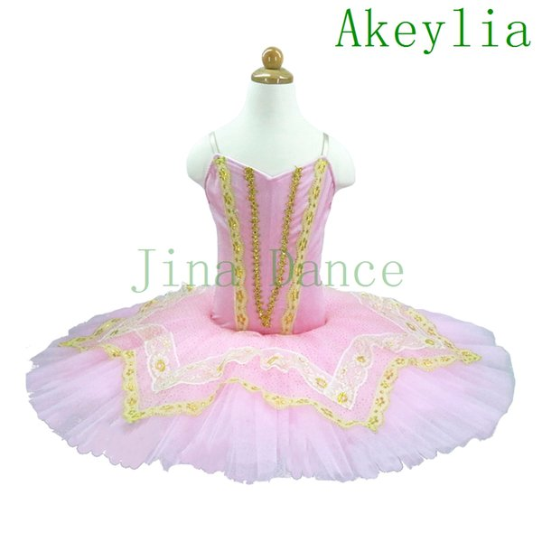 top popular Adult Pink Peach Nutcracker Ballet Tutus Platter Tutu Girls For Competition,Aqua pink Fairy Classical Ballet Tutu Ballet Dresses for child 2021