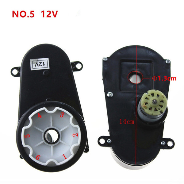 Children Electric Car Steering Gearbox with Motor RS380 12V Steering Motor