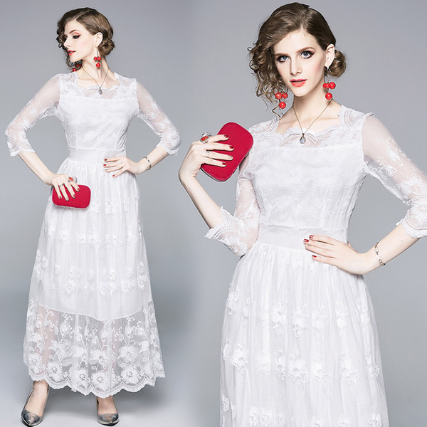 so cheap uk store the sale of shoes 2019 Elegant Cocktail Dress Women Lace Slim Wedding Bridal Prom Dinner  Engagement Anniversary Dresses 5450 From Clothes_zone, $42.22 | DHgate.Com
