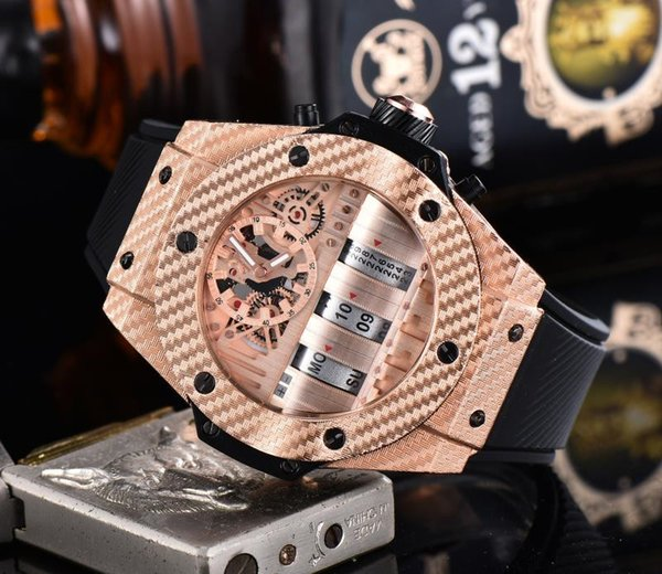 2019 New HUBLO Brand Fashion luxury men's watches The supply is sufficient. orologio uomo luxury High quality mechanical watches9