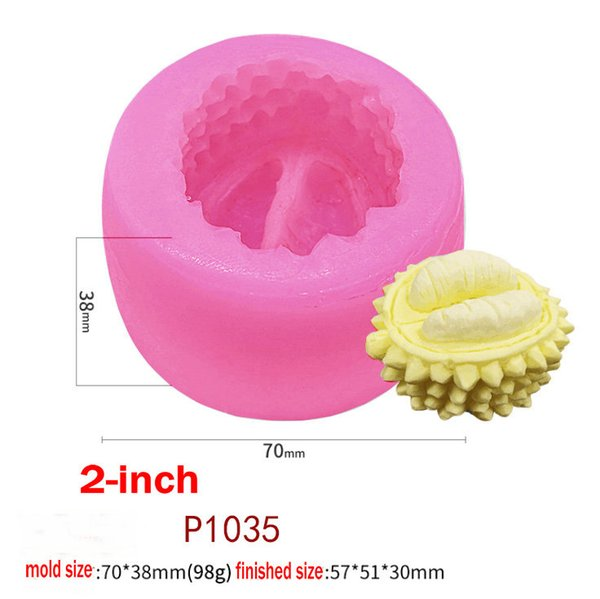 Bakeware Durian Fruit Silicone Mousse Cake Mold/Ice Cream Mould/French Dessert Mould Baking Moulds P960