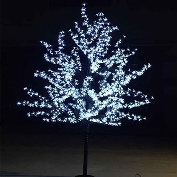 Красивый светодиодный вишневый цвет Рождественская елка освещение P65 водонепроницаемый сад пейзаж украшения лампы для свадьбы Рождество