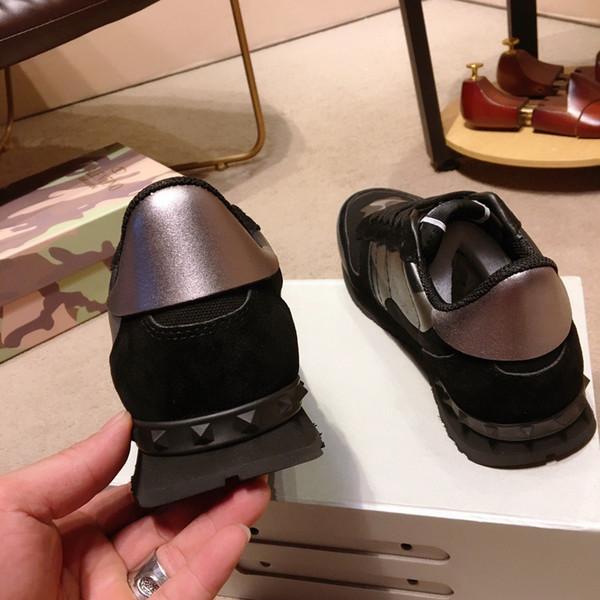 Brand new Designer de qualidade superior de Luxo Das Mulheres Dos Homens Sapatos Casuais Genuíno 450