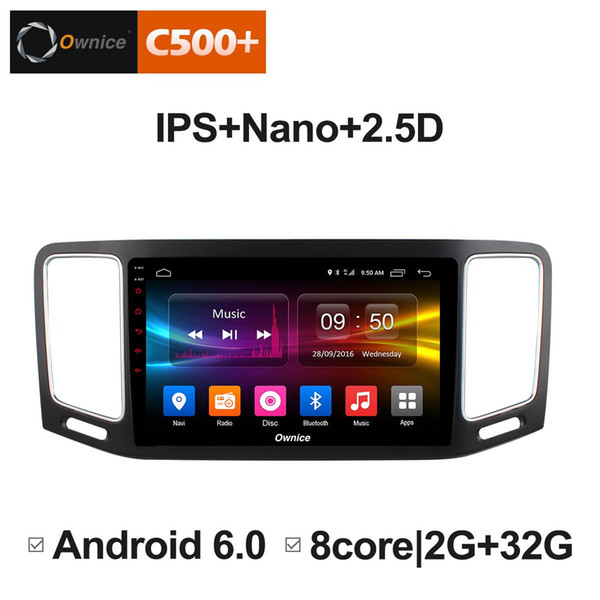 "9"" 2.5D Nano IPS Screen Android Octa Core/4G LTE Car Media Player With GPS RDS Radio/Bluetooth For Volkswagen Sharan 2012-2018 #5892"