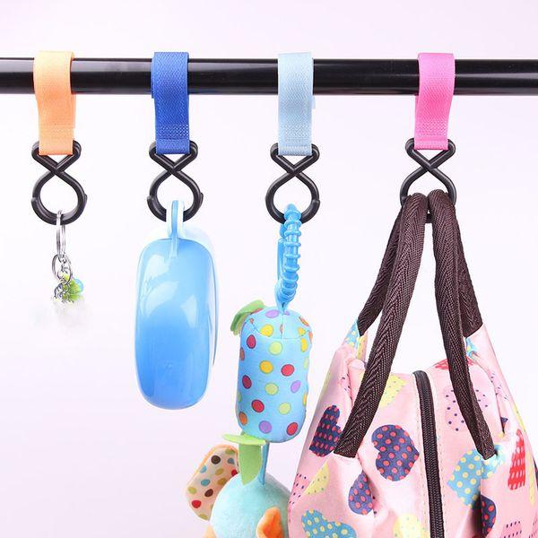 Аксессуары для детских колясок нейлоновый крючок вешалка для колясок подвесной многоцелевой крючок для детской коляски C541