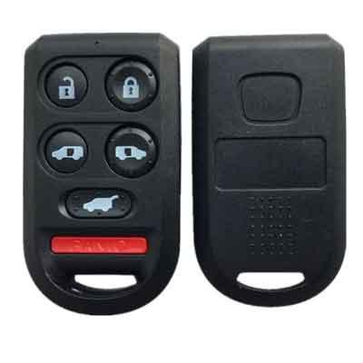 Buttons +Painc Replacement Remote Car Key Shell Case Fob For Honda Odyssey