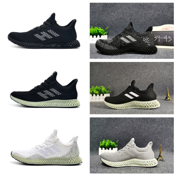 Cheap Future craft 4D shoes male basketball shoes female printing technology babysbreath fluore scence color leisure runner 4D size:EUR