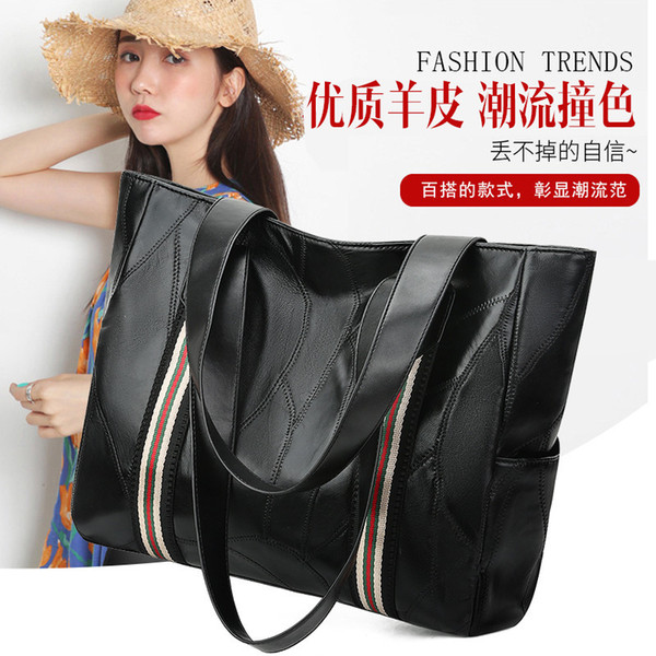 Charm2019 Bag Genuine Leather Sheepskin Single Shoulder Backpack Han Banchao Pop Joker Cool Time Precious Mom Amy Satchel