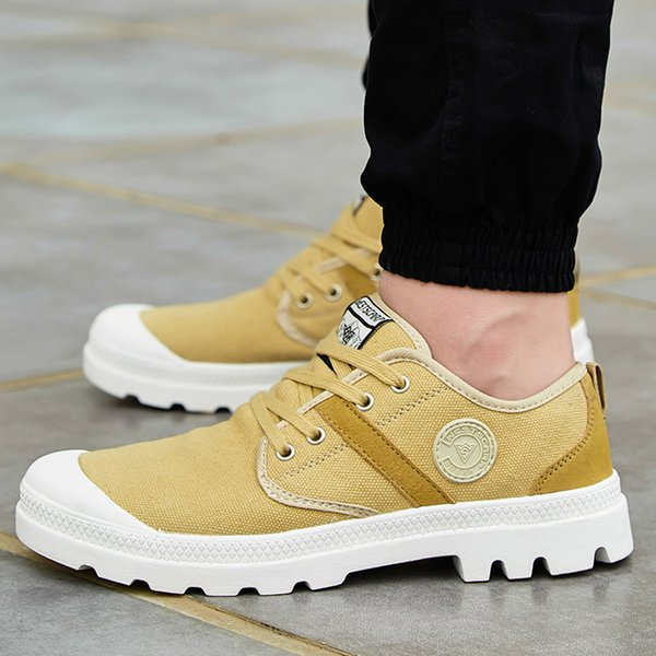 Brand new Camouflage Sport shoes Outdoor Canvas shoes Unisex Boots With 9 Colors Thick Sole size 36-47 Basic Sewing Shoes