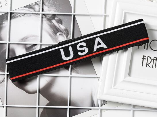 Best Selling New NY/National Flag Women Men Hairbands Absorb sweat Headband Fashion Hair Accessories No Slip sports Running yoga Hairband.