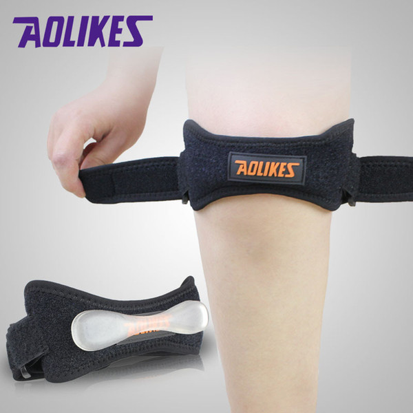 Fully Adjustable Jumpers's Knee Patellar Tendon Support Strap Band Knee Support Brace Pads Fit Running,basketball Outdoor SportA