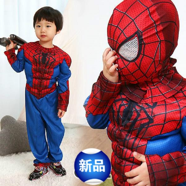 alloween costume for kids halloween costume for kids animal spiderman muscle suit superhero cosplay costumes grils boys Carnival Spider m...