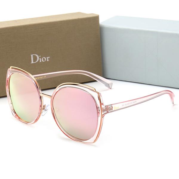 New fashion vintage ancient sunglasses women designer luxury famous womens ellipse plane sunglasses ladies sun glasses 5 colors with box