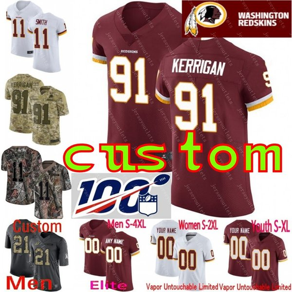 info for 04974 82139 2019 Custom Men Youth Women Washington Clinton Dix Derrius Guice Adrian  Peterson Alex Smith Sean Taylor Camo Redskins Elite Limited Jersey 01 From  ...