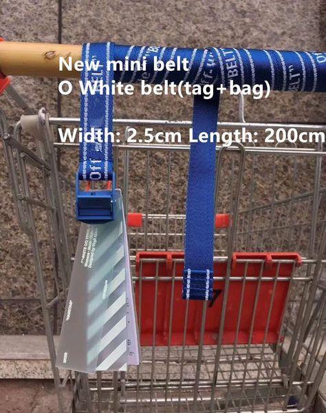 NO2 جديد (أزرق) العرض: 2.5 سم