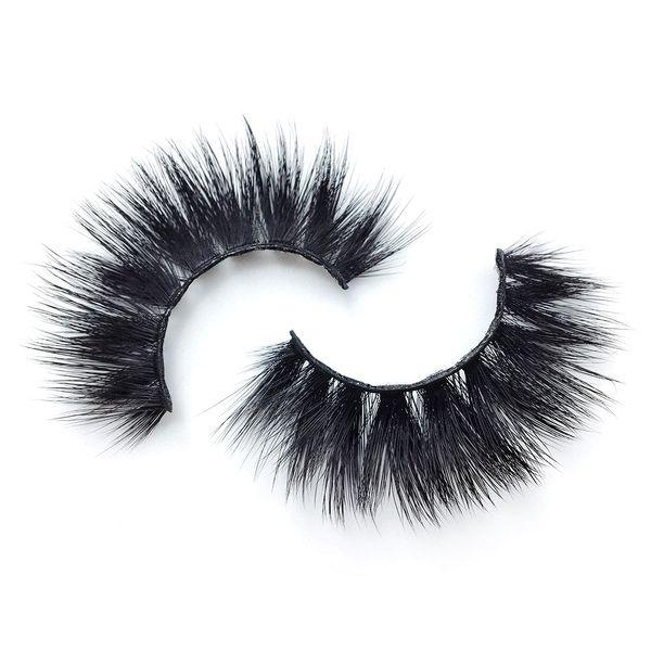 K15 6 style k series 1pair Handmade False Eyelash 3D real mink eyelashes False eyelash