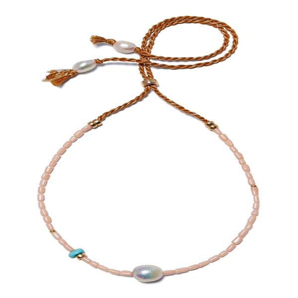 boho Puka perle naturelle déclaration naturelle des femmes collier de corail baroque bijoux collier étrangleur Collier de bijoux nouveau coquillages