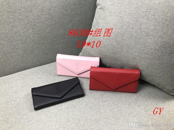 GY 8638 # Mejor precio de alta calidad de las mujeres señoras solo bolso de mano hombro mochila bolso monedero billetera