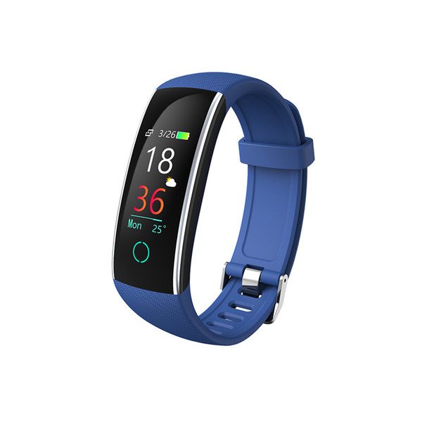 New C20 smart watch heart rate blood pressure sleep monitoring USB charging color screen sports watch IP68 waterproof FOR: iphone Samsung