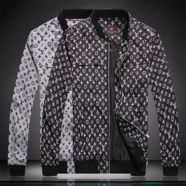 Giacca da uomo di alta marca in bianco e nero giacca da uomo boutique moda giacca a quadri 3D giacca dama m-4xl