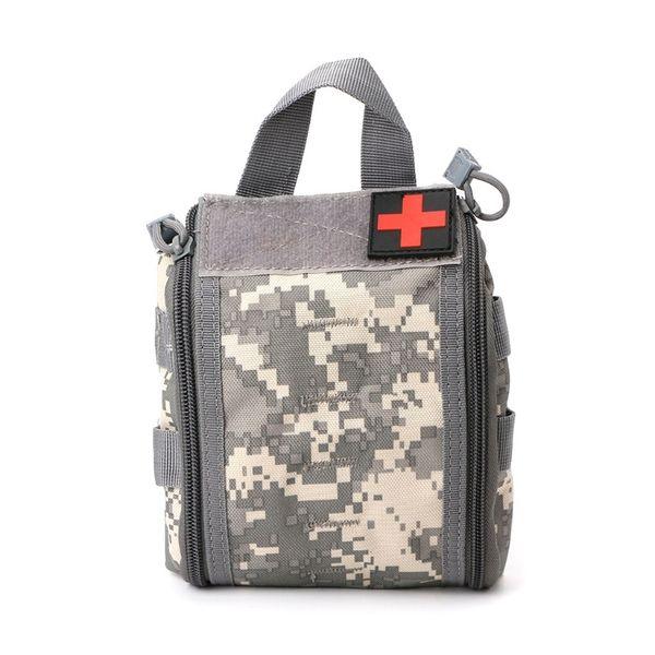 Tactical Rip Away EMT Pack Medical First Aid Pouch Bolsa de herramientas de utilidad EDC # 243826