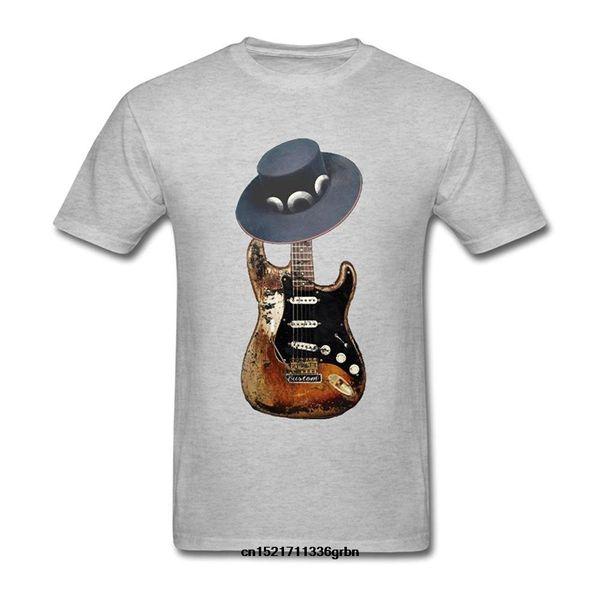 Guwmi Stevie Ray Vaughan maglietta T shirt Uomo Cotone Moda bianco divertente tshirt novità tshirt manica lunga Hoddies unisex