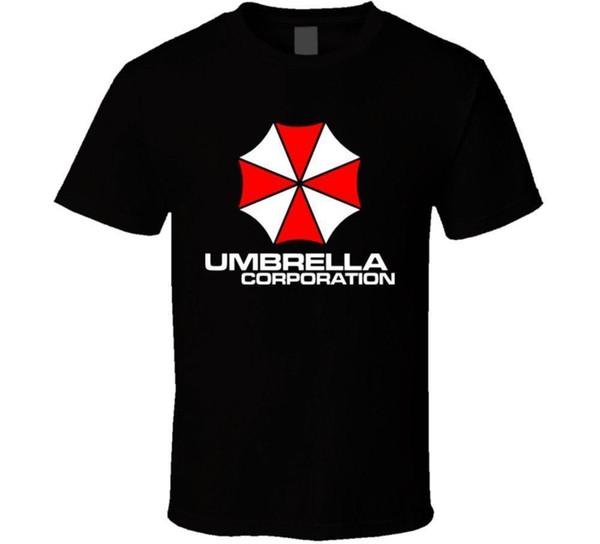 Resident Evil Umbrella Corporation T Shirt Cute Tatoo Lover T-Shirt Round Collar Short Sleeve Tee Shirts Top Tee
