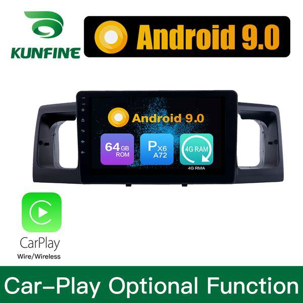 Android 9.0 Ram 4G Rom 64G PX6 Cortex A72 Car DVD GPS Multimedia Player Car Stereo Per Toyota Corolla EX 2013-2017 Unità principale