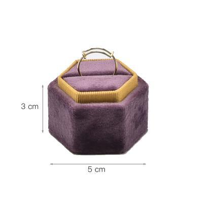 Ring Holder Small Purple
